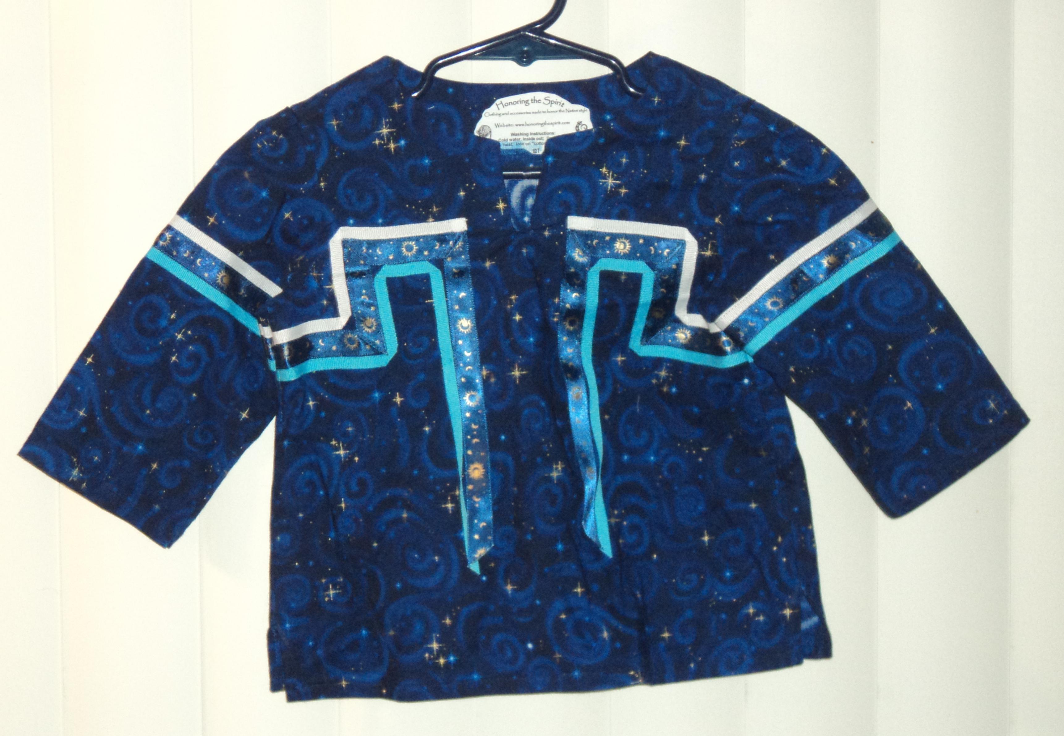 Toddler ½T Blue Sun Moon Stars